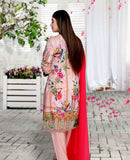 Maya Digital Printed Lawn M-013-3PC
