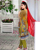 Maya Digital Printed Lawn M-008-3PC