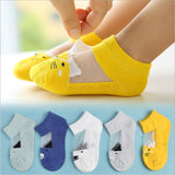 5 Pair Unisex Breathable Cotton Socks