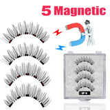 LEKOFO 5 Magnetic Eyelashes 3D
