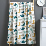Two Layer Muslin Blanket 100% Cotton 110*120cm