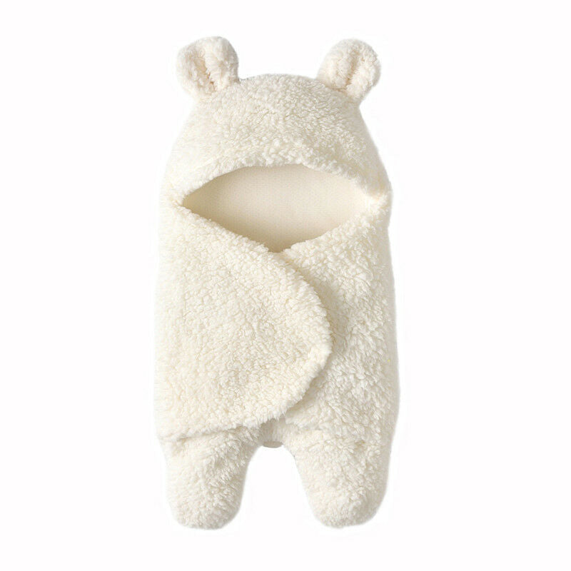 Baby Hooded Swaddle Blanket
