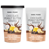Chocolate Peanut Butter Banana Protein ShakePlease