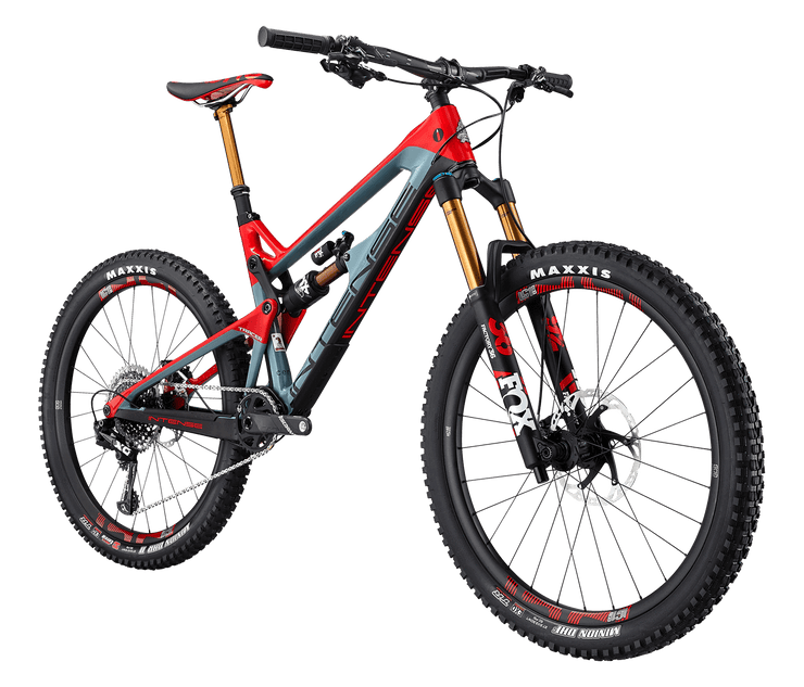 "2020 TRACER ELITE BUILD BIKES ENDURO / 27.5"" / 165mm GLOSS RED/SLATE M"