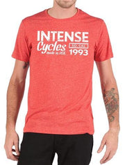 Intense 1993 Tee Softgoods Intense Cycles Inc. Heather Red S