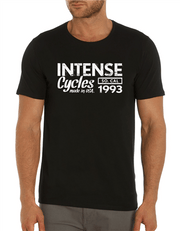 Intense 1993 Tee Softgoods Intense Cycles Inc. Black S