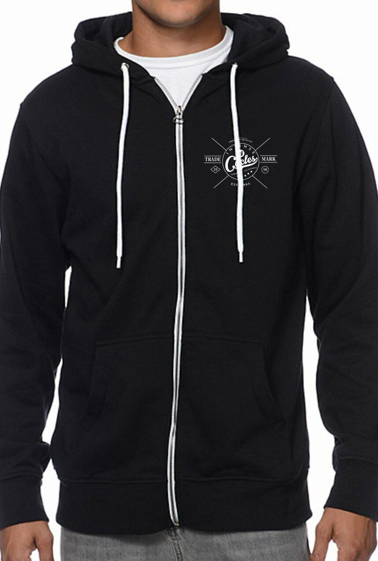 Intense Trademark Zip-up Hoodie Softgoods Intense Cycles Inc.