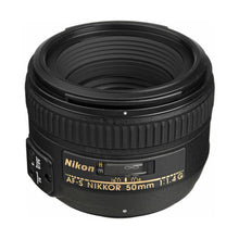 Load image into Gallery viewer, Nikon AF-S 50mm f1.4 G FX Lens