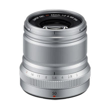 Load image into Gallery viewer, Fujifilm XF 50mm f/2 R WR Lens (Select Colour)