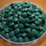 100% PURE Organic Spirulina 250mg Tablets Veg Pills Superfood Detox Cold Pressed