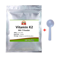 Best Quality Vitamin K2 Mk7 Powder,MENAQUINONE-7 Supplement for Osteoporosis,Treatment of Parkinson's, Liver Detoxifcation