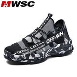 MWSC Comfortable Casual Shoes For Men All Season Breathable Walking Shoes Men Male Lace Up Running Sneakers Footwear