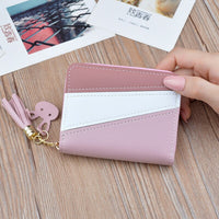 Female Purse Money Clip Wallet WENYUJH Women Wallets Small Leather Purse Women Ladies Card Bag For Women 2020