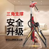 Multifunctional folding handstand waist disk stretching auxiliary equipment household abdominal muscle exerciser