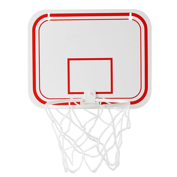 Shatterproof Backboard Indoor Mini Sports Punch Free Toy Rebounds Wall Hanging Children Basketball Hoop Set Net Game Hoop Ring