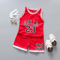 Kids Boys clothes set 2020 summer children clothing basketball uniform suit boys girls sport outfits 2Pcs toddler costume