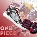 Brand New Men Casual Shoes High Top Lace-up Sneaker For Men One Piece Anime sneakers for men Comfortable casual shoes men