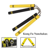 Martial Arts Foam Nunchakus Sponge Safe nunchaku Fitness Chinese Kung Fu ExerciseTraining Equipment For beginners