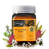 Original NewZealand Comvita Wildlands Manuka Honey 500g Premium Honey for Digestive Health Respiratory System Cough Sooth Throat