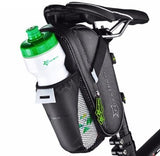 2020 Bicycle Saddle Bag With Water Bottle Pocket Waterproof MTB Bike Rear Bags Cycling Rear Seat Tail Bag Bike Accessories X731