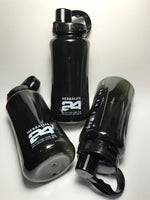 Herbalife 24 Nutrition Mega Half Gallon 64oz Shake Sports Water Bottle Tritan Plastic Black with BLACK Lid