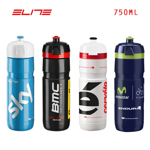 550ml 750ml Elite Team Edition Kettle Bicycle Water Bottle Cycling Sports Bottles