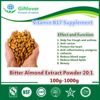 Vitamin b17 Supplement,Anti-cancer,100g-1000g Bitter Almond Extract Powder 20:1,Bitter Apricot Kernel,Amygdalin Laetrile
