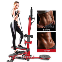 4 Function In 1 Fitness Step Machine Household Handrail Stepping Machine Weight-loss Multi-Functional Leg Step Fitness Machine