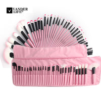 32Pcs Professional Makeup Brush Set Foundation Eye Face Shadows Lipsticks Powder Brushes Make up Cosmetic Tools pincel maquiagem