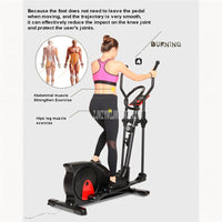 MY-E8008 Oval Motion Track Magnetic Control Resistance Stepping Machine Dual Handrail Walker Indoor Fitness Stepper Equipment