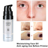 Magic Invisible Pore Makeup Primer Pores Disappear Face Oil-control Make Up Base Contains Vitamin A,C,E for Optimum Skin Health