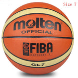 2019 High Quality Basketball Ball Official Size 7/6/5 PU Leather Outdoor Indoor Match Training Inflatable Basketball baloncesto