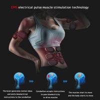 Electric Smart Abdominal Muscle Stimulator Shaping Machine Muscle Exerciser Slimming Fat Burning Exerciser Fitness Equipment