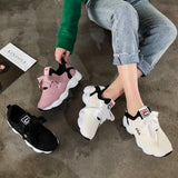 Basket Femme 2019 Casual Shoes Women Breathable Vulcanized Shoes Light Platform Leisure Sneakers Chaussures Femme Tenis Feminino