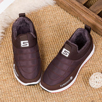 SAGACE Shoes Women Men Couple Fashion Casual Winter Warm Comfortable Slip On Round Toe Short Ankle Footwear Shoes Sneakers #45