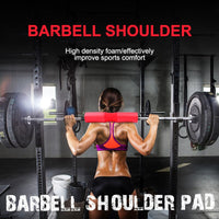 Barbell Protect Foam Soft Pad Anti-Slip Anti-Drop Durable Fitness Squat Sponge Neck Shoulder Back Protect Pad Gym Accessories