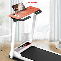 A2 Foldable Fitness Treadmill Home Folding Running Machine Multifunctional Electric Walking Machine With Handrail Tabletop 220V