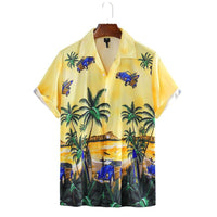 Shirts for men Tropical Vacation Hawaii Shirt Mens Floral Printed Hip hop chemise homme Short Sleeve Streetwear Beach shirt Men