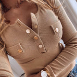 women Shirts Blouse Women Long Sleeve tops 2020 NEW Spring Elegant Button Female plus size Sexy V-Neck Slim Pullovers tops women