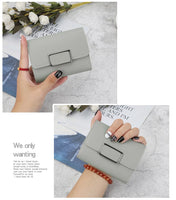 Women Wallets Small Fashion Brand Leather Purse Women Ladies Card Bag for Women 2020 Clutch Women Female Purse Money Clip Wallet