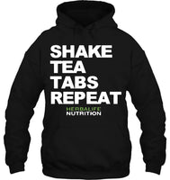 Men Hoodie Details About Herbalife Nutrition Shake Tea Tabs Repeat Black Male Women Streetwear