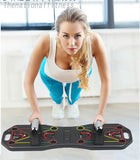 9 in1 Push Up Bar Rack Training Board Women Men Push-up Support Stand Fitness Tool Home Gym Chest Muscle Grip Exercise equipment