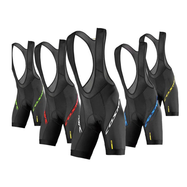 Pro Team Mavic 2020 New Cycling 20D GEL Pad Bib Shorts MTB Quick Dry Breathable Padded Sport Bike Wear Bicycle Lycra