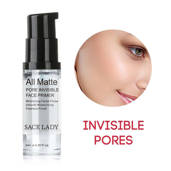 Invisible Pores Base Face Primer Matte Makeup Foundation Cream Waterproof No-stimulate Concealer Whitening Comestics Tools TSLM1