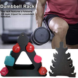 Dumbbell Rack Fitness Weight Loss Home Gym Storage Fixed Combination Three-tier Dumbbell Rack Sport Fitness Accessories In Stock