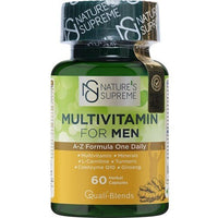 Nature's Supreme Multivitamin For Men 60 Capsules