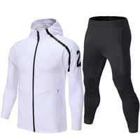 High Quality Men's Sport Suits Winter Running sets Clothes Sports Joggers Training Football Fitness Tracksuits Running Workout