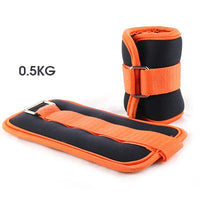 1pcs Leg Ankle Weights Straps Wrist Weight Strength Training Exercise Fitness Equipment Sand Bags Ankle Support Sports