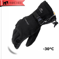 2017 New Men's Ski Gloves Snowboard Gloves Snowmobile Motorcycle Riding Winter Gloves Windproof Waterproof Unisex Snow Gloves