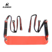 ALBREDA Sport Fitness door Resistance Band Pull up Bar Slings Straps horizontal bar Hanging Belt Chin Up Bar Arm Muscle Training